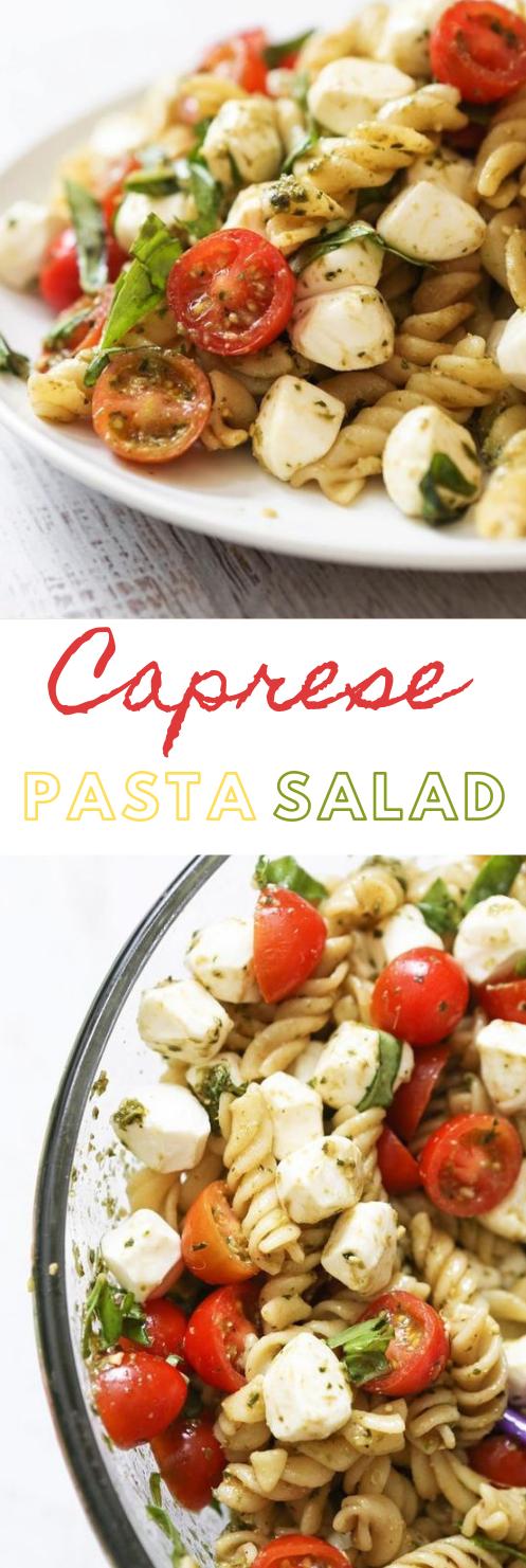 CAPRESE PASTA SALAD #pasta #dinner