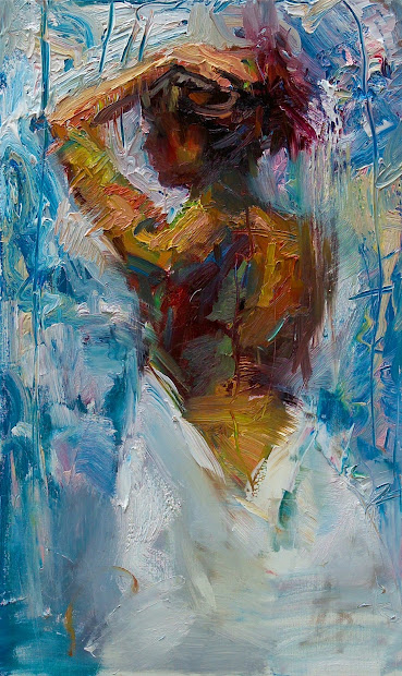 Modern Abstract Art Paintings Woman