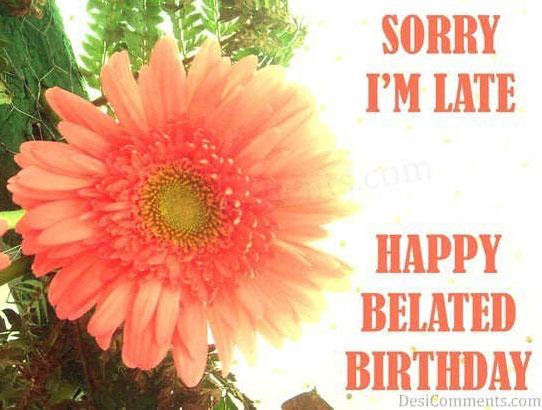 Cards Belated Birthday Pinterest
