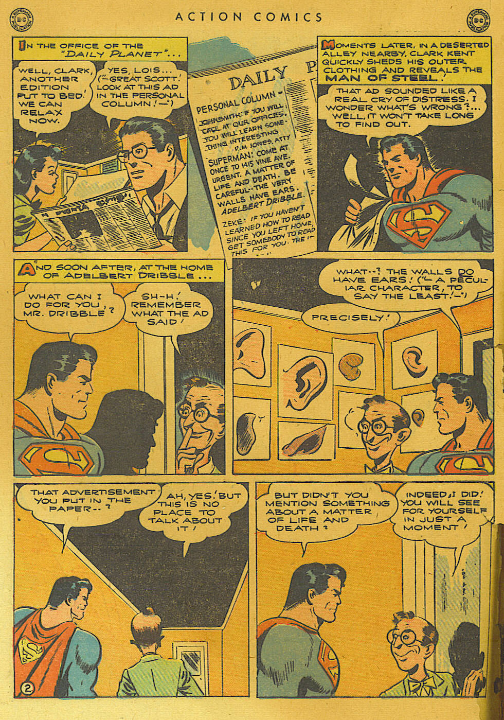 Read online Action Comics (1938) comic -  Issue #74 - 4