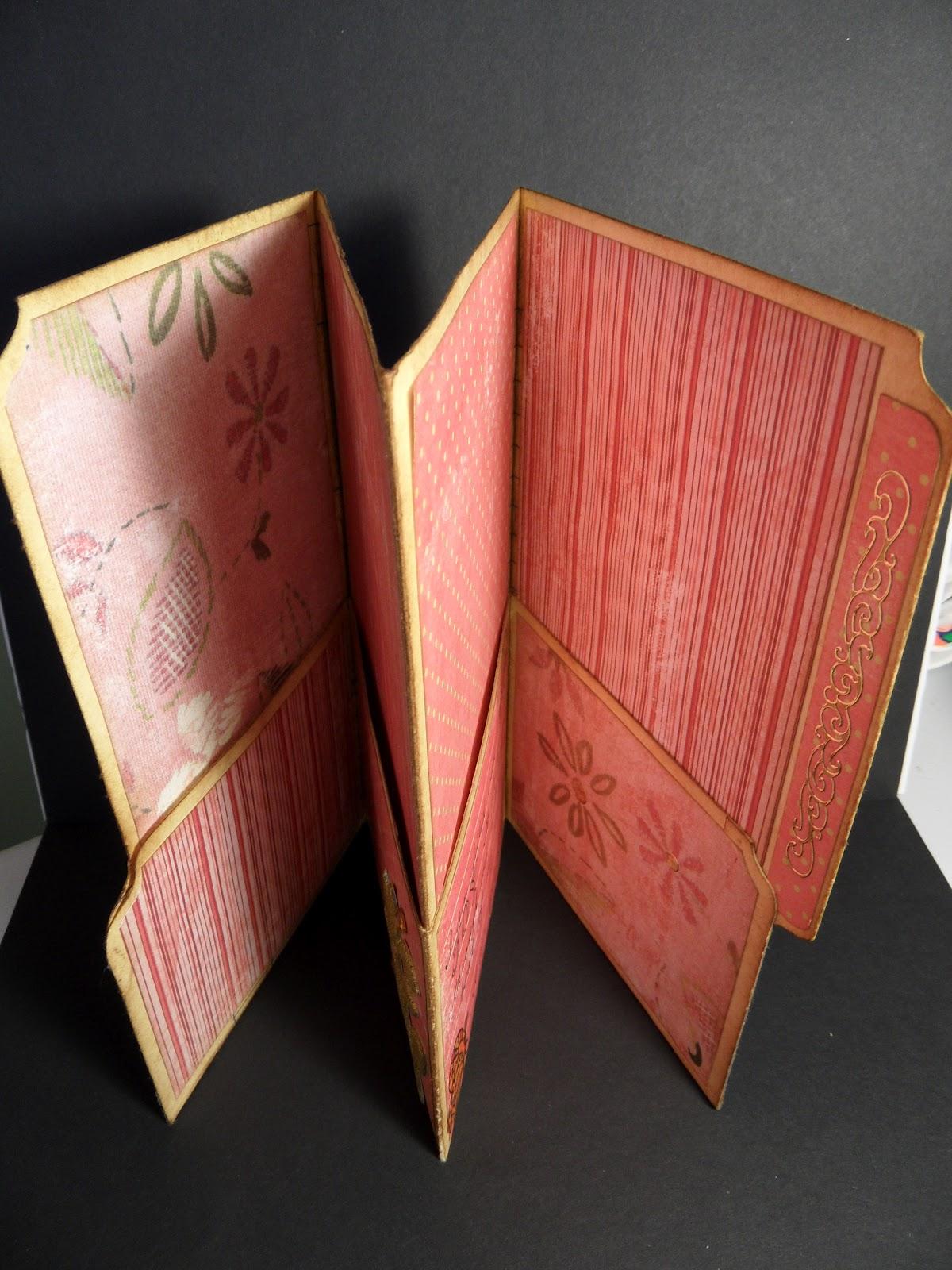 Trish S Artistic Adventures File Folder Journal Positive Affirmations