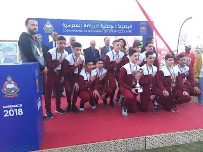 تألق الأبطال الرياضيين في البطولة الوطنية المدرسية للرياضات الجماعية بمدينتي أكادير ومراكش