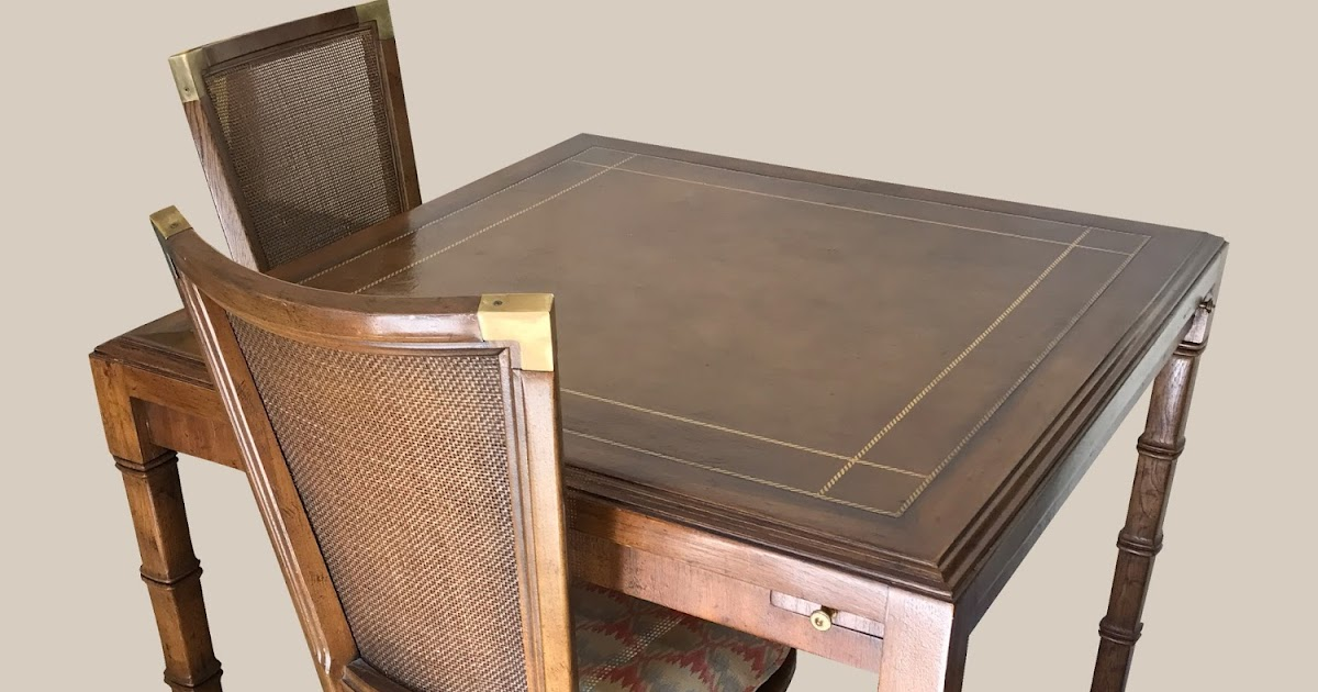 Free Pick Up Donations Furniture Uhuru Furniture & Collectibles: Vintage Bridge Table with ...