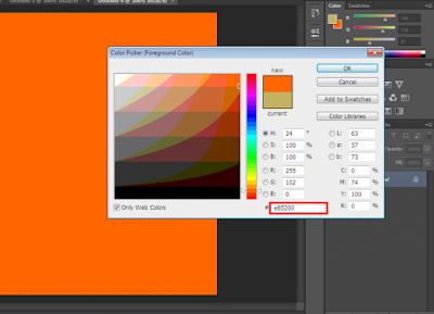 Color Picker Forground Color
