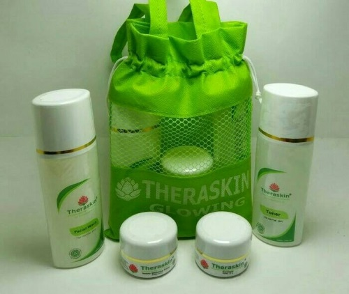 Paket Theraskin Cream Glowing 4 In 1