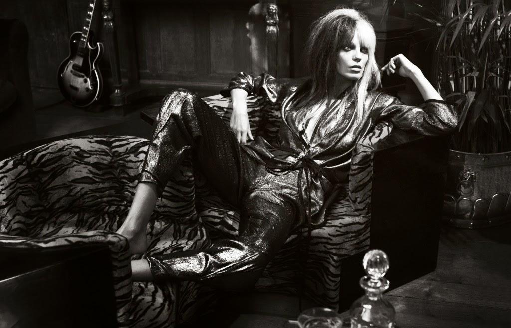 British Vogue Magazine March 2014