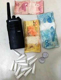 Segurança é preso por tráfico de drogas em Aracaju