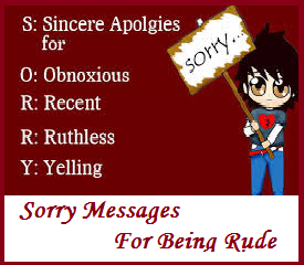 apology letter to boyfriend for being rude sorry messages being rude 17987