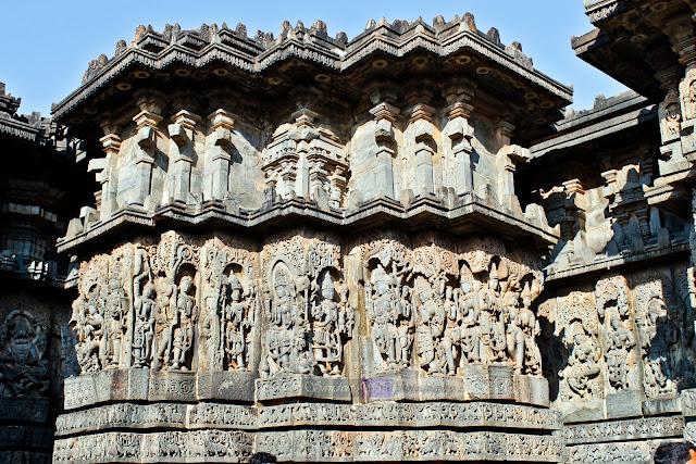 Sculptures of Halebid, 1121 C.E