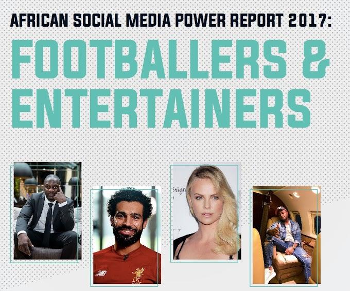 Akon, Salah top 2017 African Social Media Power Report