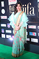 Samantha Ruth Prabhu Smiling Beauty in strange Designer Saree at IIFA Utsavam Awards 2017  Day 2  Exclusive 53.JPG