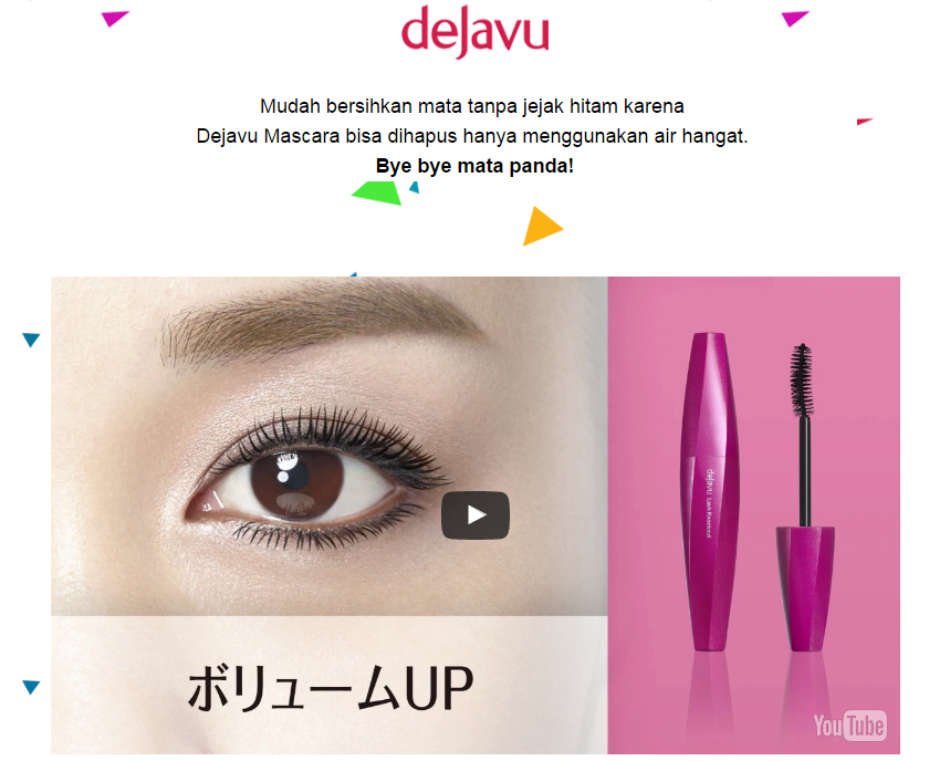 Review Eyeliner & Mascara Dejavu