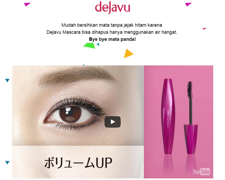 Review Eyeliner & Mascara Dejavu