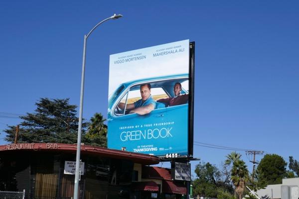 Green Book film billboard