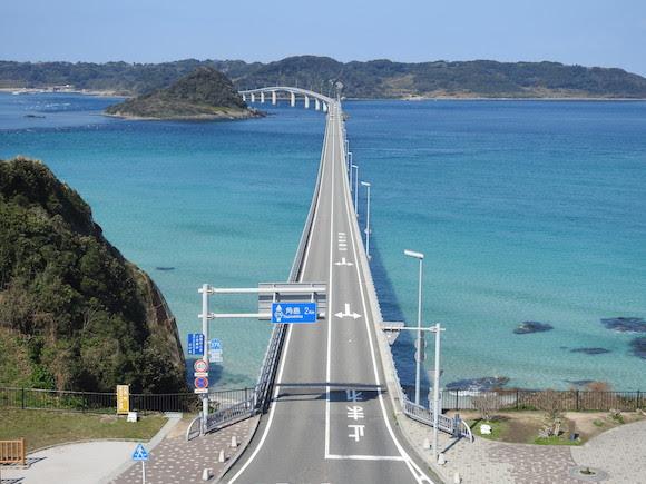 【擁抱海洋】日本最美麗大橋 下關市角島大橋