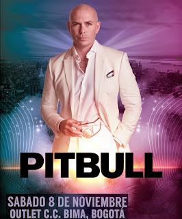 Pitbull en Bogotá