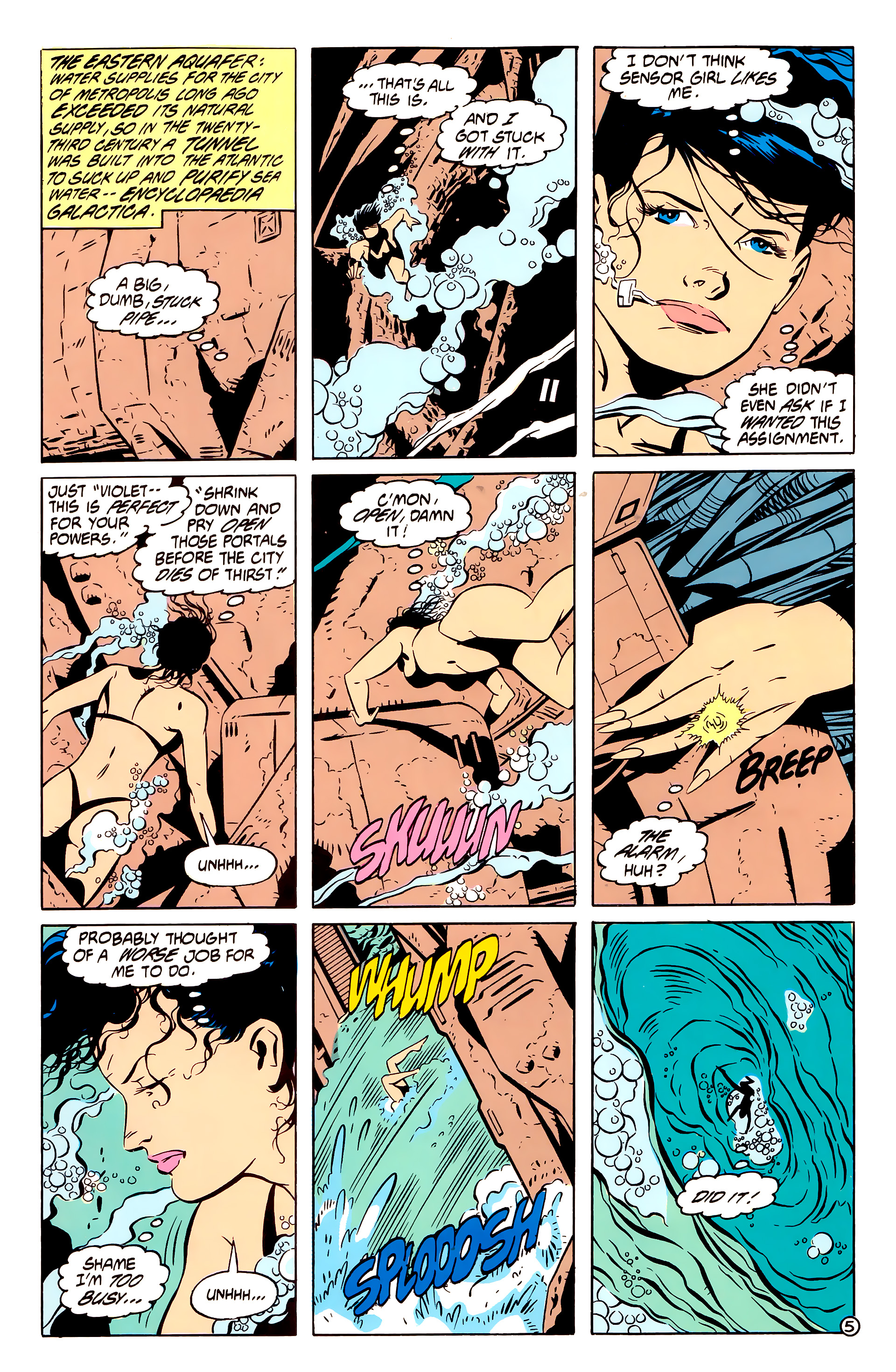 Legion of Super-Heroes (1984) 61 Page 5
