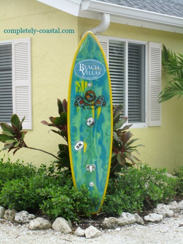 Surfboard Decor Decorating Ideas For Your Home Coastal