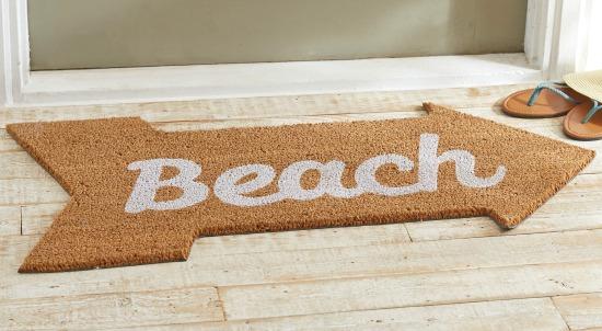 Superieur Beach Arrow Doormat