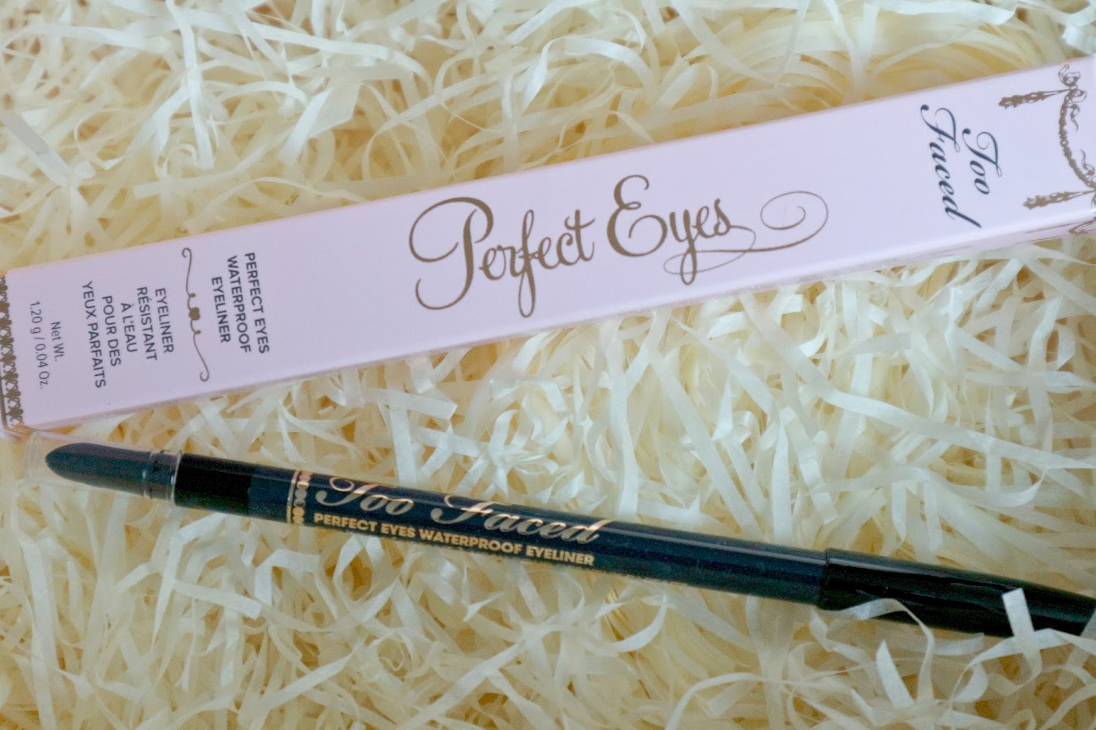 too faced perfect eyes eyeliner review