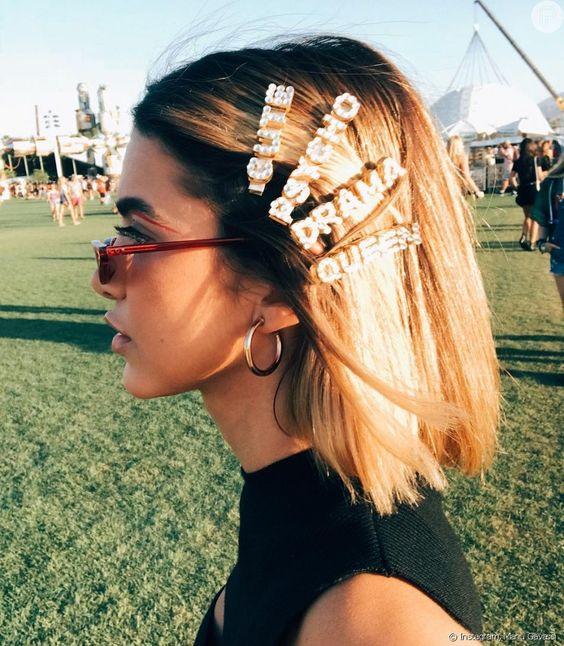 presilhas de cabelo 2019