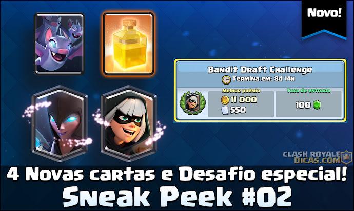 Sneak Peek #02: 4 novas cartas e novo desafio lendário - 1