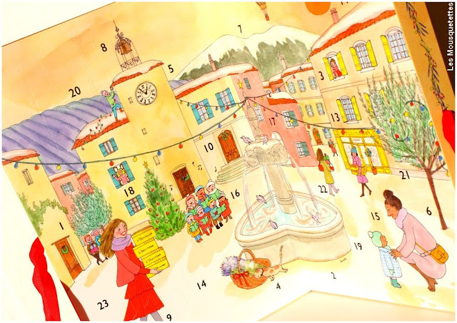 Calendrier de l'Avent L'Occitane en Provence x Kanako 2017 - Blog beauté