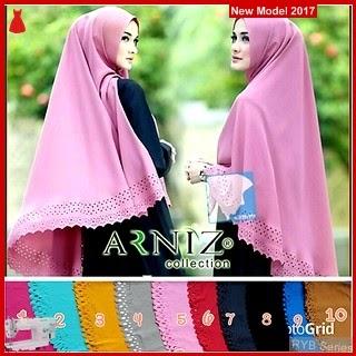 RYB041B Khimar Lazya Cantik Arniz Murah Cutting BMG Online Shop