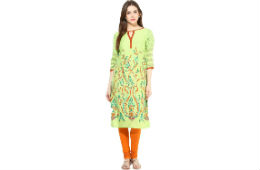 Shakumbhari Women's Kurta upto 75% OFF From Rs 313 at Amazon