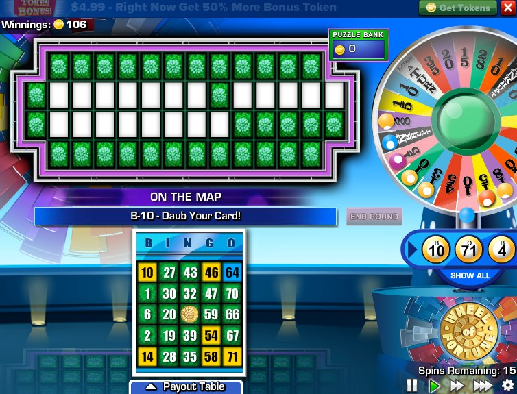 Wheel Of Fortune Flash Game