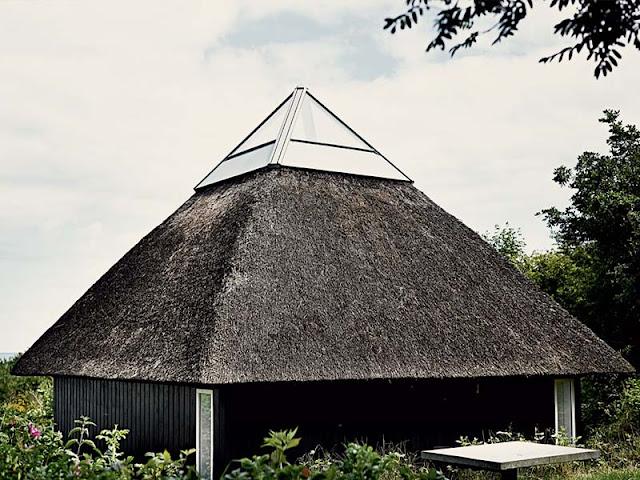 architecte danoise de  Vilhelm Wohlert à Samsø au Danemark