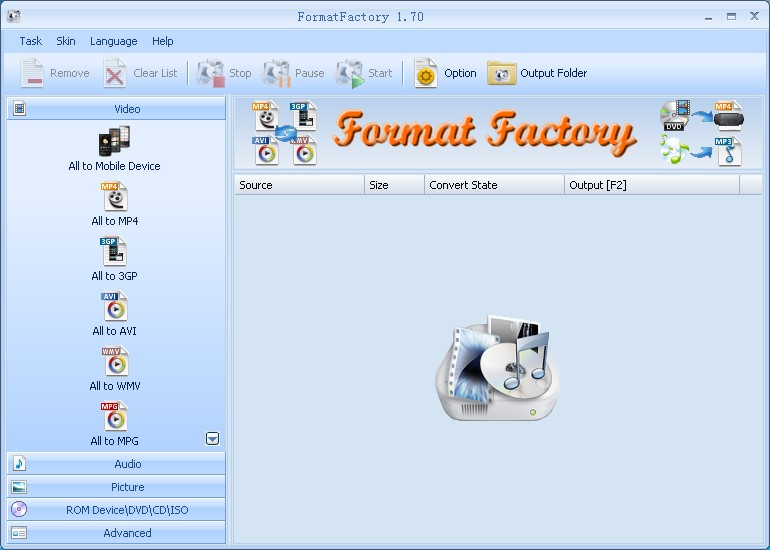 Format Factory - An Excellent Multimedia Converter for MS Windows!