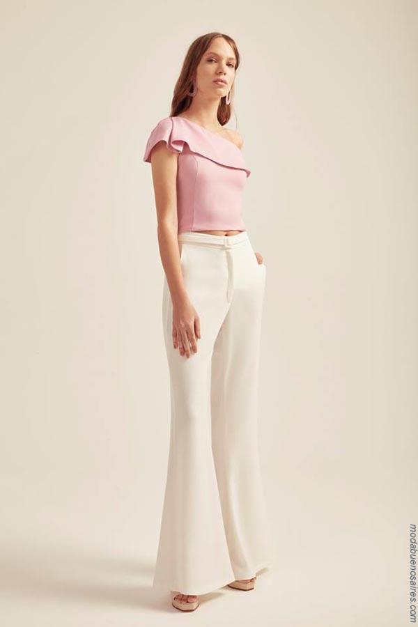 Moda primavera verano 2019 ropa de mujer. Moda mujer verano 2019.