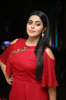 Poorna in Maroon Dress at Rakshasi movie Press meet Cute Pics ~  Exclusive 23.JPG