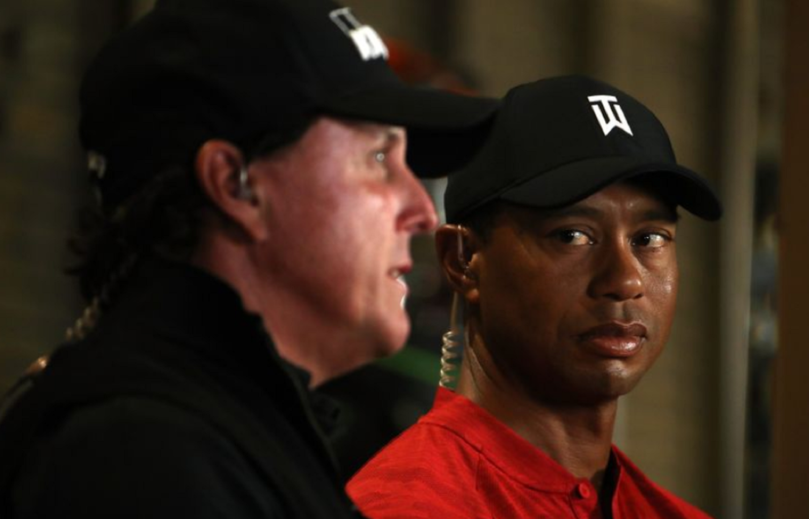 TIGER WOODS, PHIL MICKELSON 2