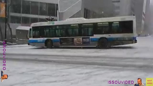 Montréal snow chao issouvideo