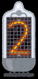 ニキシー管のイラスト(2)