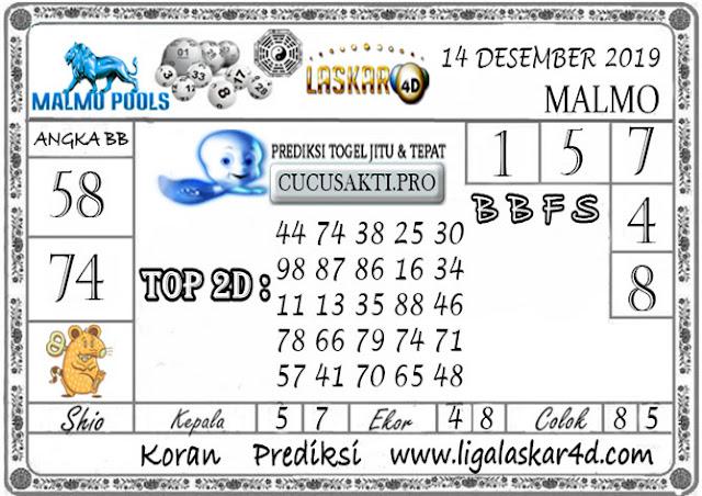 Prediksi Togel MALMO LASKAR4D 14 DESEMBER 2019