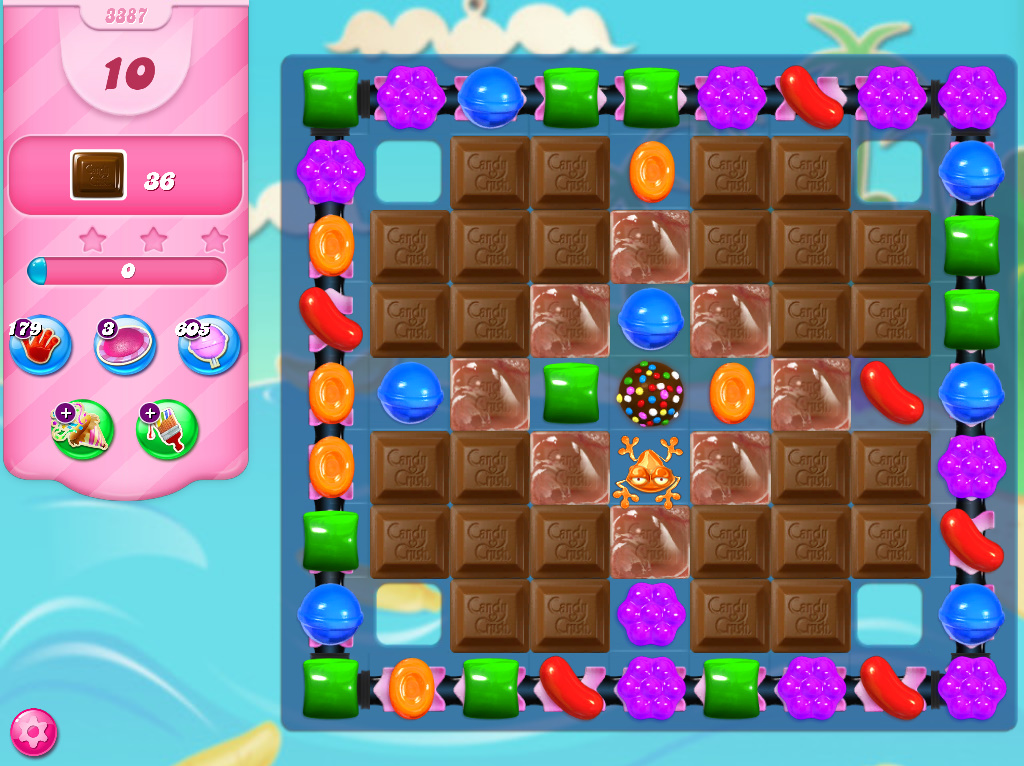 Candy Crush Saga level 3387