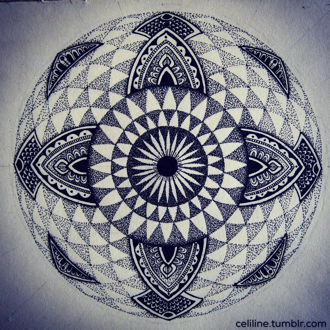 10-Celine-Silence-Lines-Art-Mandalas-Zentangles-and-Stippling-Drawings-www-designstack-co