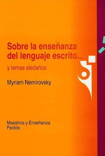 sobre la enseñanza del lenguaje escrito