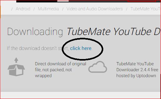 """الطريقة الصحيحة لتحميل تطبيق tubmate """"لا يوجد في playstor """""""