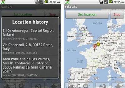 شرح وتحميل تطبيق FAKE GPS LOCATION لتزوير موقع اتصالك لاي دولة أخرى (روت)