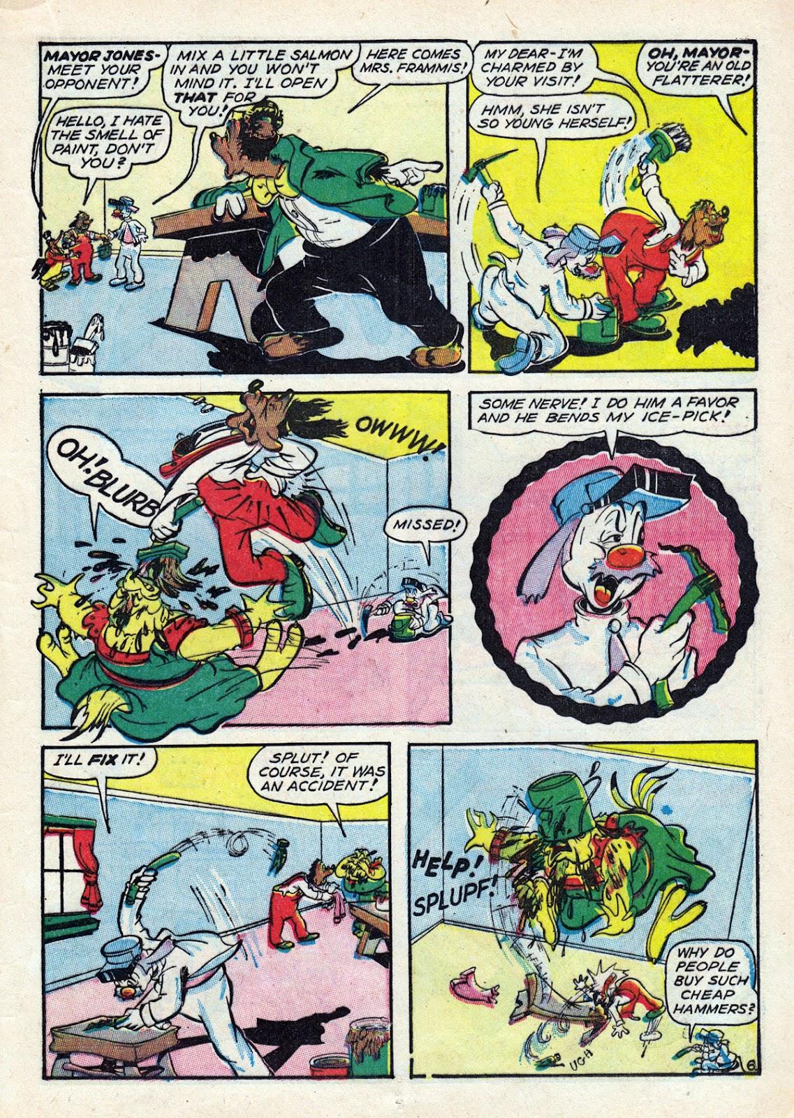 Read online Comedy Comics (1942) comic -  Issue #14 - 25