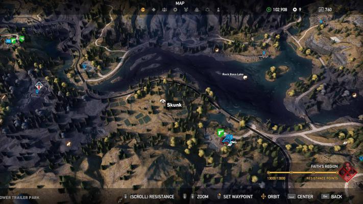 Карта Far Cry 5