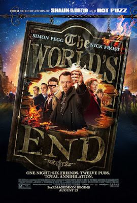 The World's End, 2013 poster movie