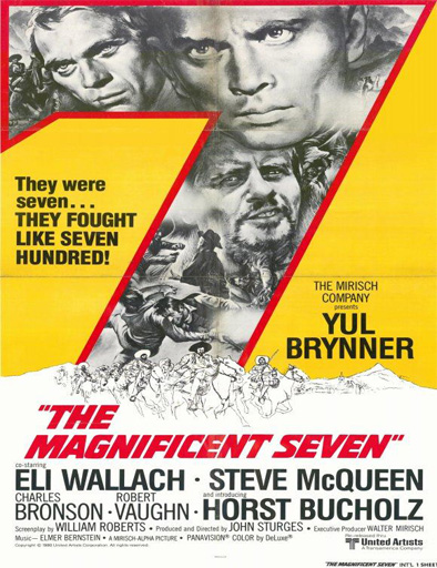 Ver Los siete magníficos (The Magnificent Seven) (1960) Online