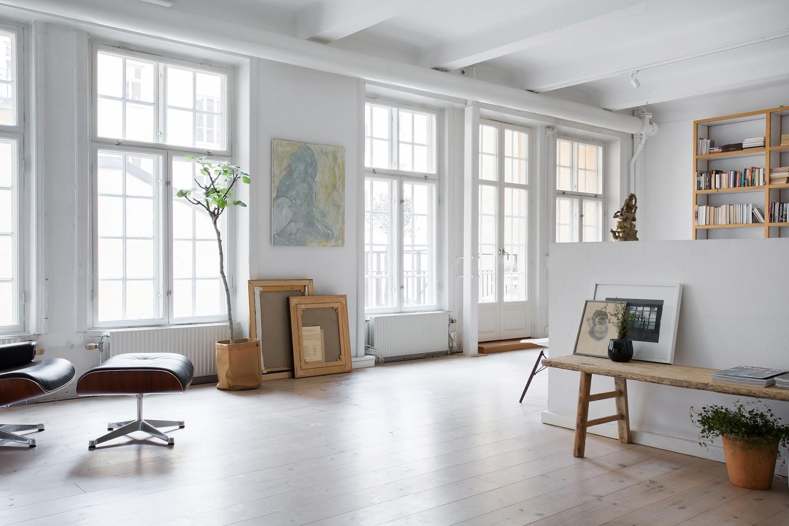atelier rue verte le blog stockholm un duplex de 198 m. Black Bedroom Furniture Sets. Home Design Ideas