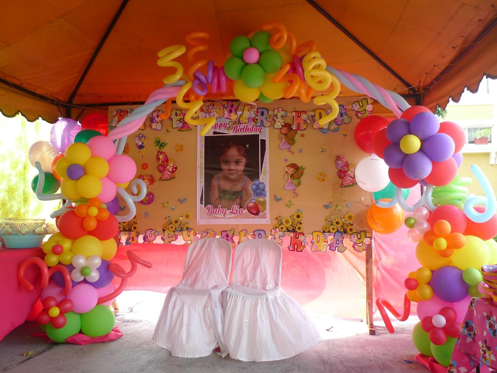 Kalliopelp arcos con globos decoraci n de fiestas - Decoracion fiesta de cumpleanos infantil ...