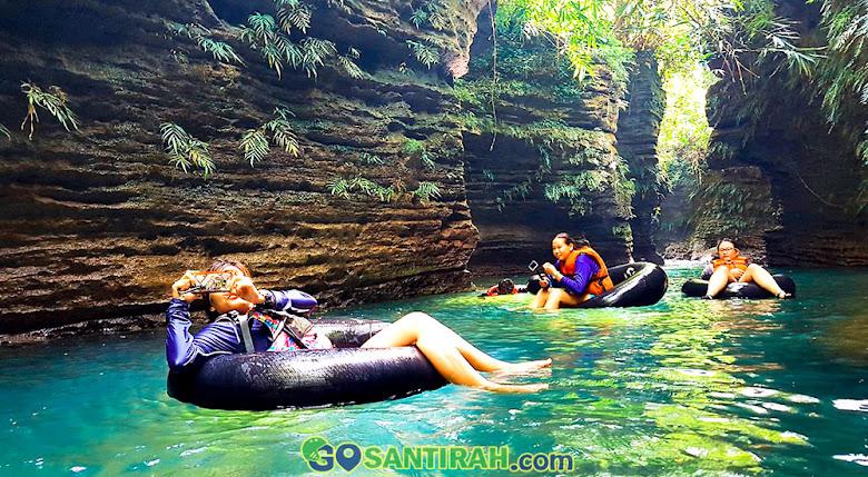 river tubing green santirah selasari